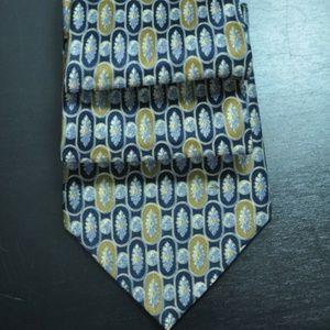 NEW Brioni Navy & Brown 100% Authentic Tie